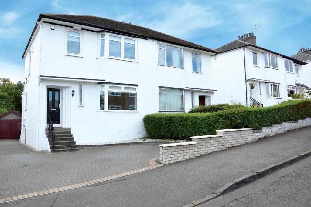 3 Bedrooms Semi-detached Villa House for sale in 23 Rockmount Avenue, Giffnock, G46 7BU