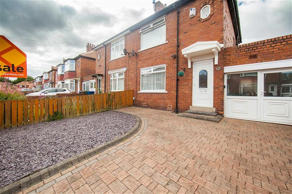 2 Bedrooms Semi Detached House for sale in Selby Gardens, Walkergate, Newcastle Upon Tyne, NE6