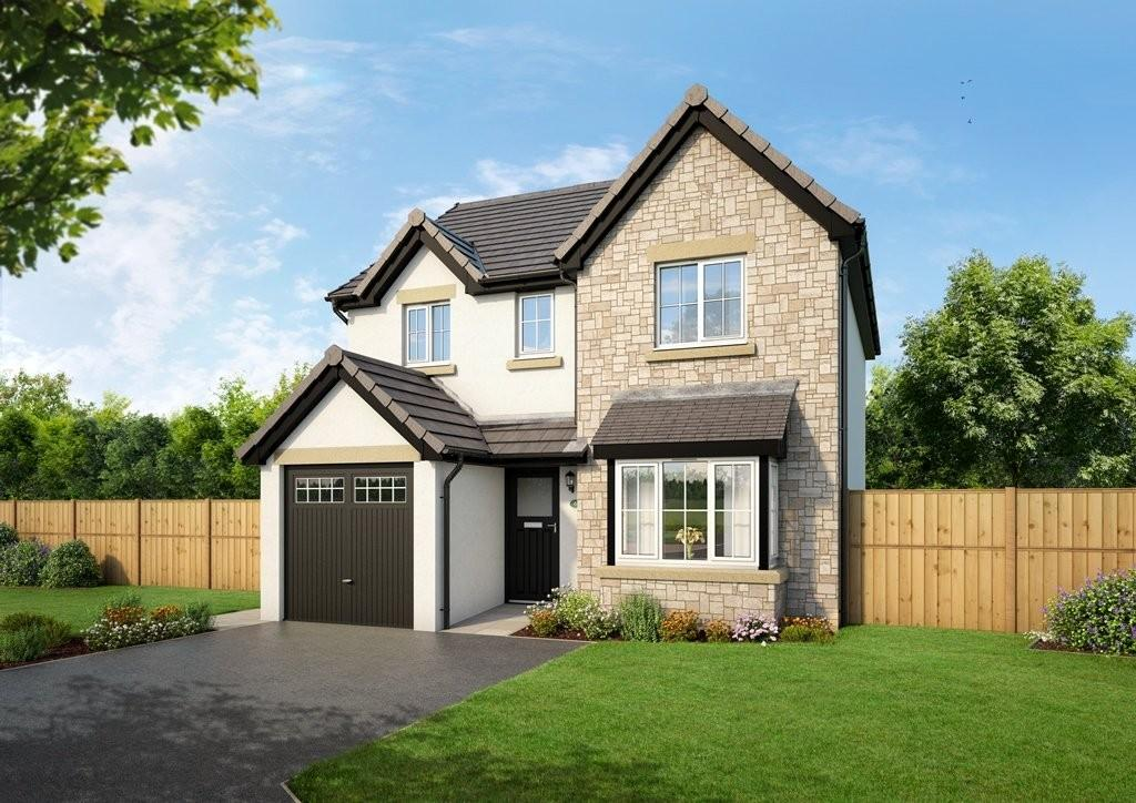 4 Bedrooms Detached House for sale in Plot 9, The Kentmere, Blenkett View