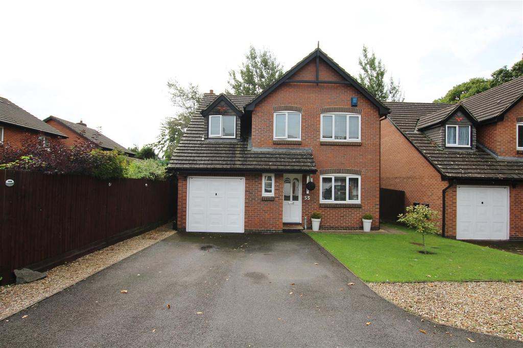4 Bedrooms Detached House for sale in Upper Barn Copse, Fair Oak, Eastleigh