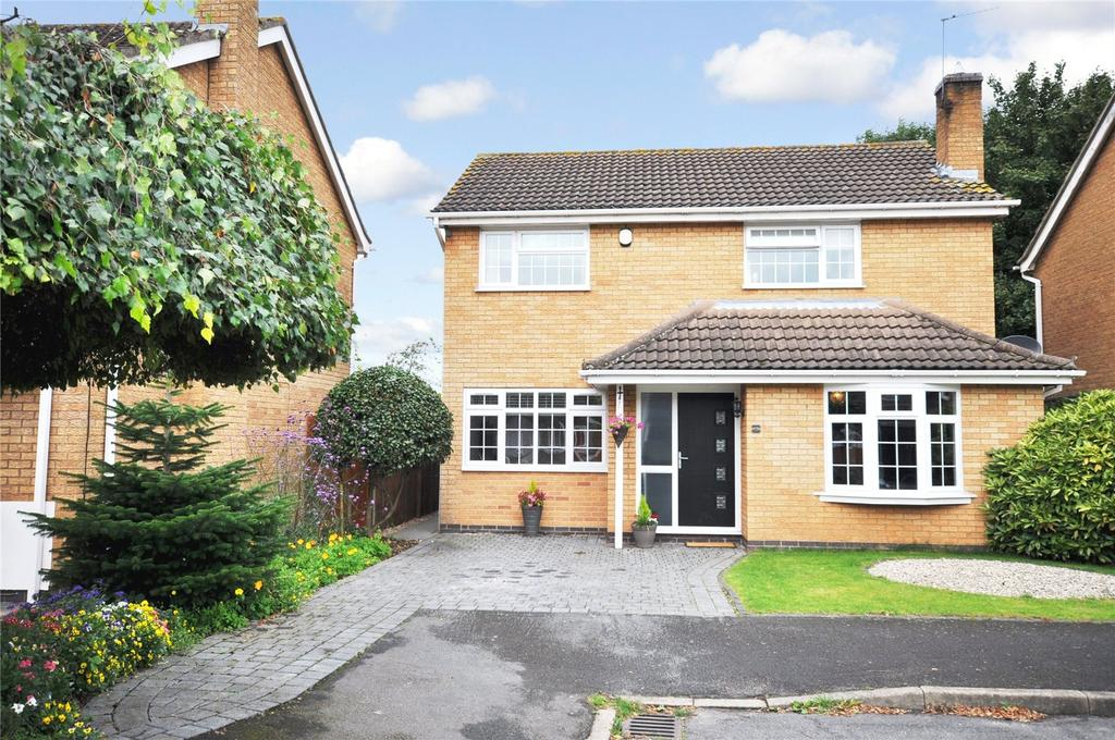 4 Bedrooms Detached House for sale in Deeming Drive, Quorn