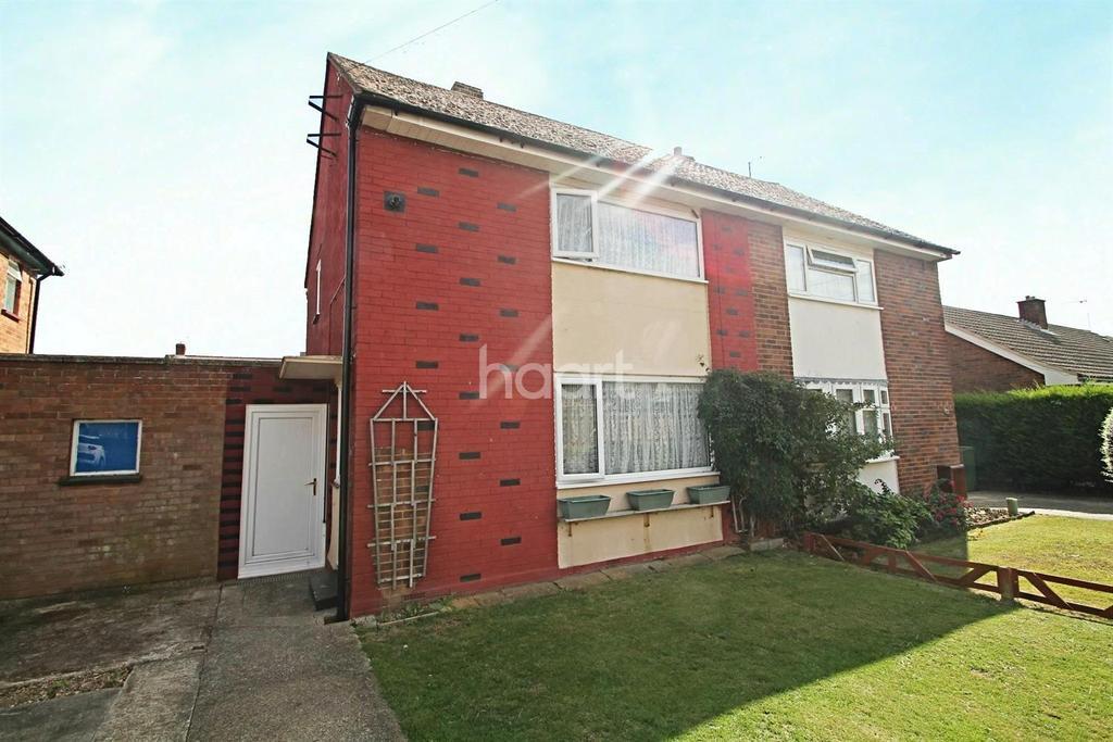 2 Bedrooms Semi Detached House for sale in Stephenson Road, Braintree