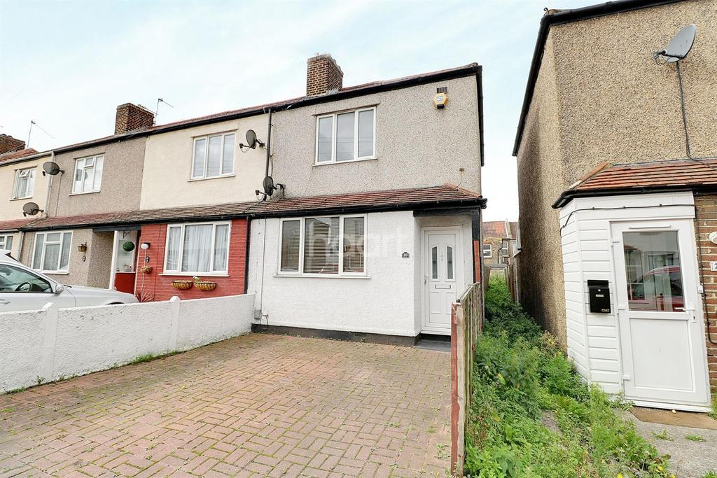 3 Bedrooms End Of Terrace House for sale in Mildred Close, Dartford, DA1