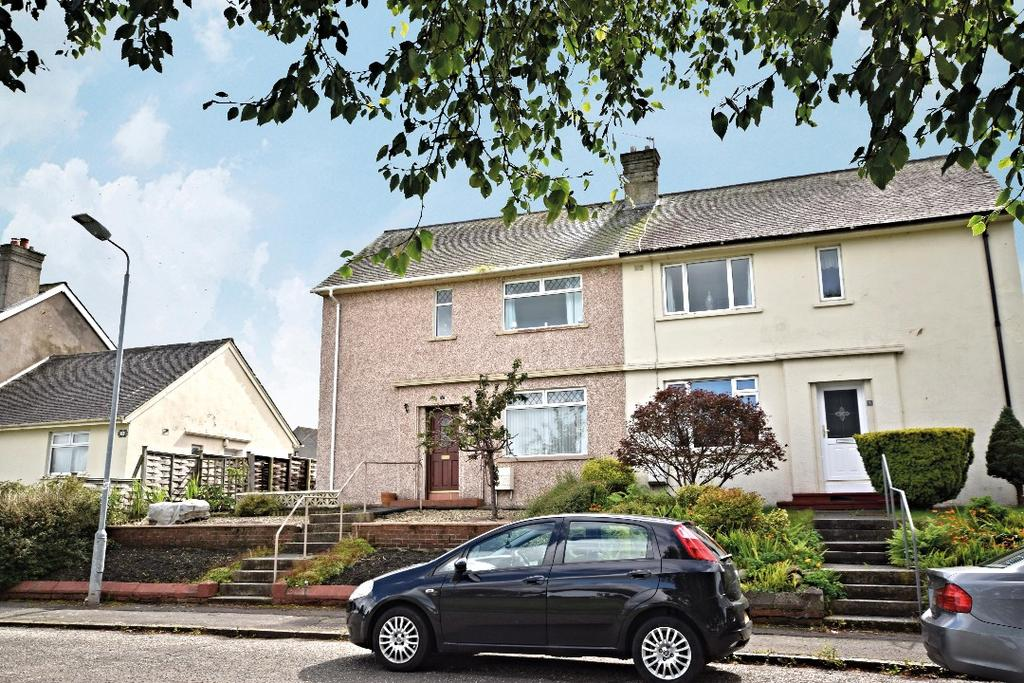 3 Bedrooms Semi Detached House for sale in Lorne Terrace, Coylton, South Ayrshire, KA6 6JX