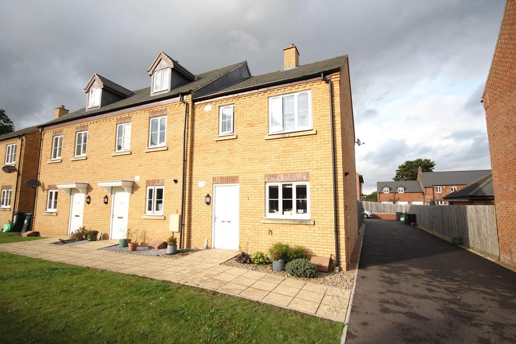 3 Bedrooms End Of Terrace House for sale in Stockbridge Close, Clifton, Shefford, SG17
