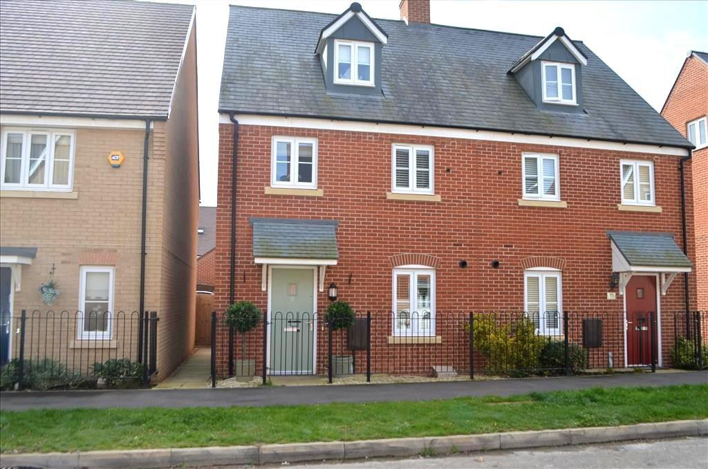 4 Bedrooms Semi Detached House for sale in Anderson Road, Biggleswade, SG18