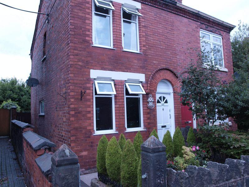 2 Bedrooms Semi Detached House for sale in Lydyett Lane, Barnton, Northwich, Cw8 4JT