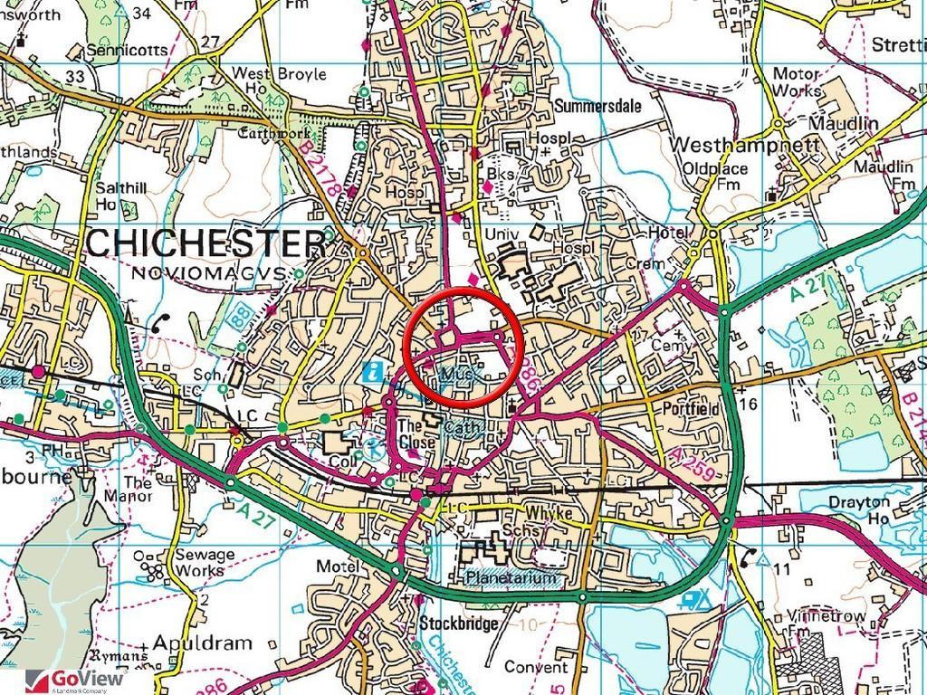Chichester Northgate Car Park