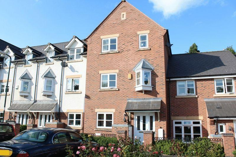 4 Bedrooms Terraced House for sale in Beddow Close, St Michaels Gate, Shrewsbury, SY1 2NX