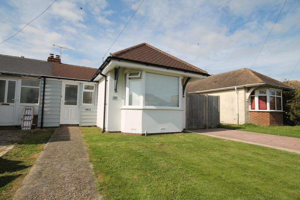 2 Bedrooms Semi Detached Bungalow for sale in Orient Road, Lancing, BN15 8JZ