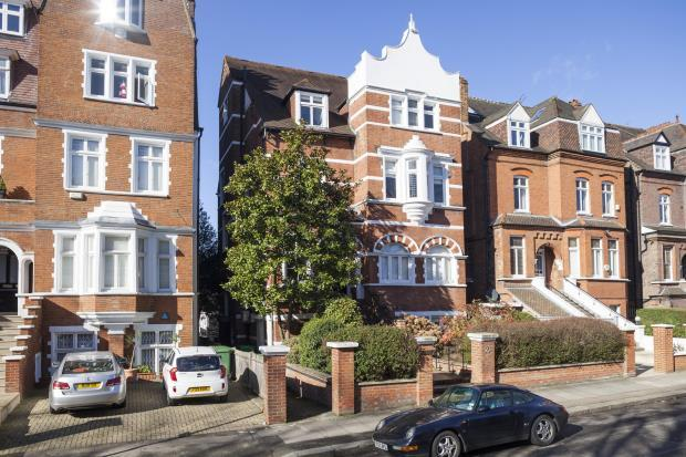 House for sale in Maresfield Gardens, Hampstead, London, NW3