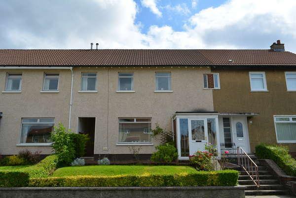 3 Bedrooms Terraced House for sale in 61 Burrelton Road, Merrylee, Glasgow, G43 2LP
