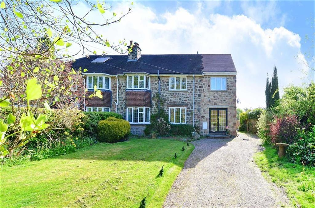 5 Bedrooms Semi Detached House for sale in Sunnyside, Eaton Hill, Baslow, Bakewell, Derbyshire, DE45