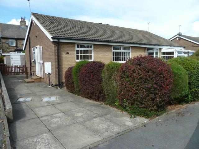 2 Bedrooms Semi Detached Bungalow for sale in Rosewood Grove, Bradford