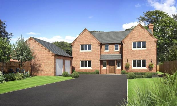 4 Bedrooms Detached House for sale in Tedsmore Grange Plot 2, West Felton, West Felton, Oswestry