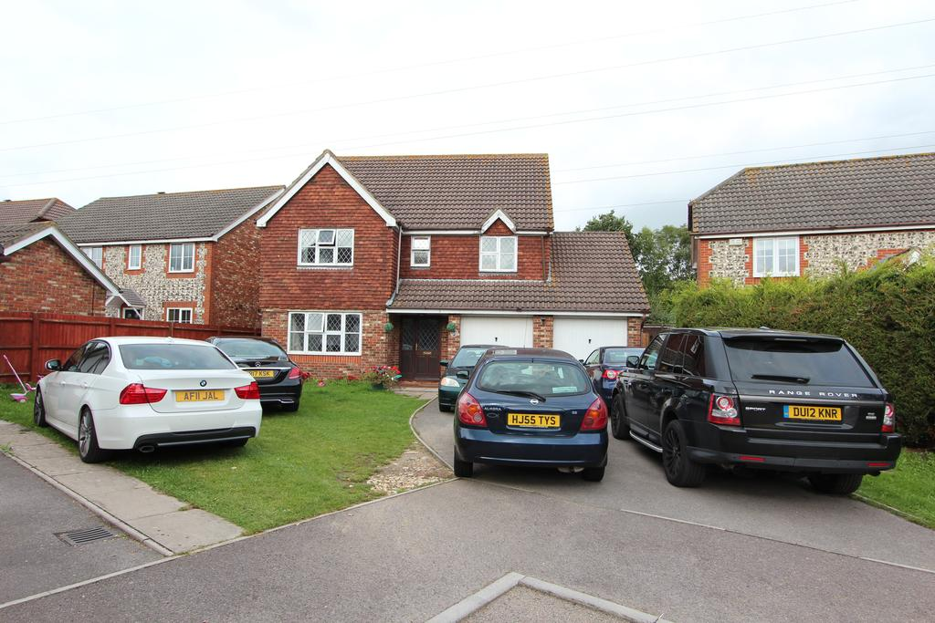 5 Bedrooms Detached House for sale in Mallett Close, Grange Park SO30