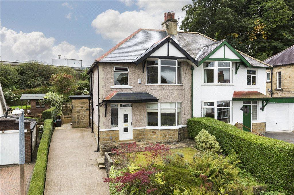 3 Bedrooms Semi Detached House for sale in Longwood Avenue, Bingley, West Yorkshire
