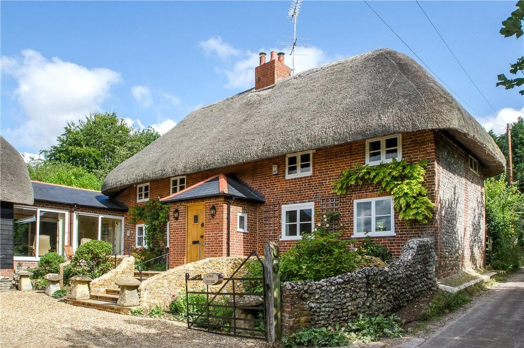 4 Bedrooms Detached House for sale in Orange Lane, Over Wallop, Stockbridge, Hampshire, SO20