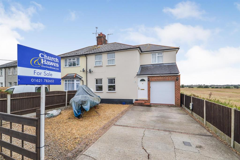 4 Bedrooms Semi Detached House for sale in Cripplegate, Southminster