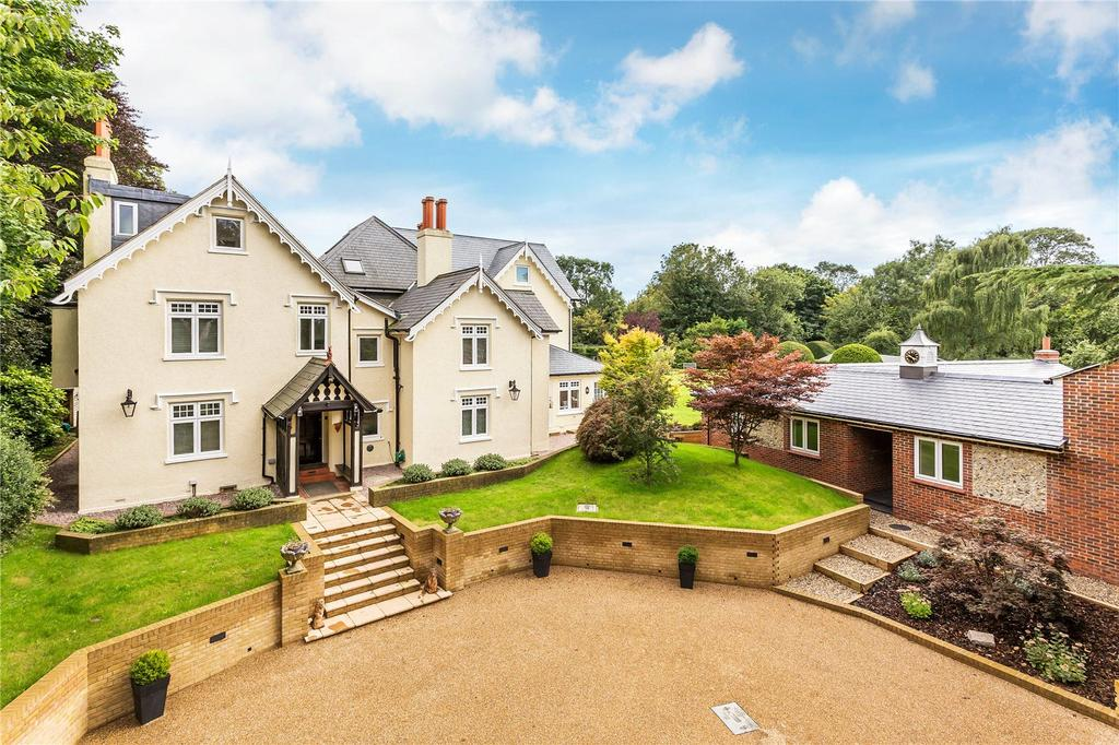 6 Bedrooms Detached House for sale in Church Lane, Chaldon, Caterham, Surrey, CR3