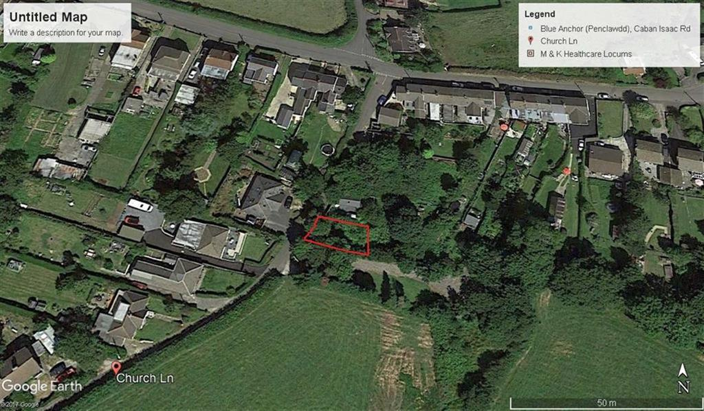 Land Commercial for sale in Church Lane, Blue Anchor, Swansea, Swansea