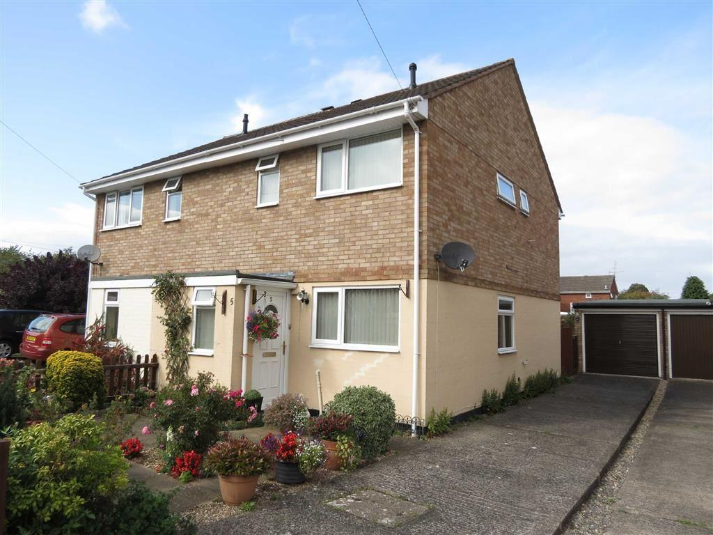 3 Bedrooms Semi Detached House for sale in Whitehart, Reabrook, Shrewsbury, Shropshire