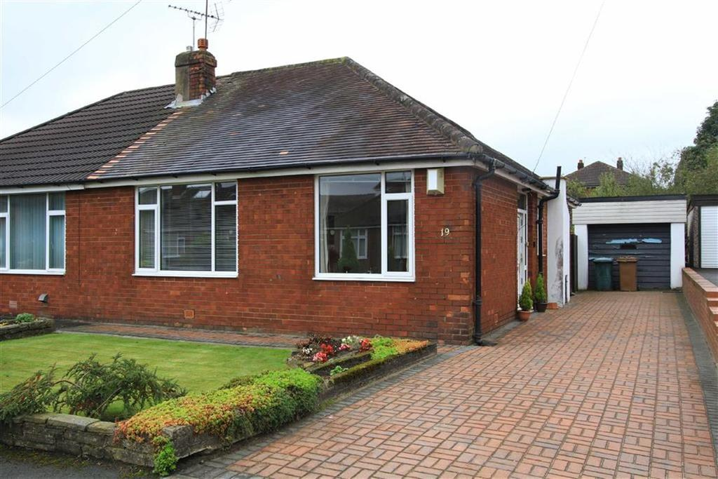 2 Bedrooms Semi Detached Bungalow for sale in 19, Ryelands Close, Buersil, Rochdale, OL16