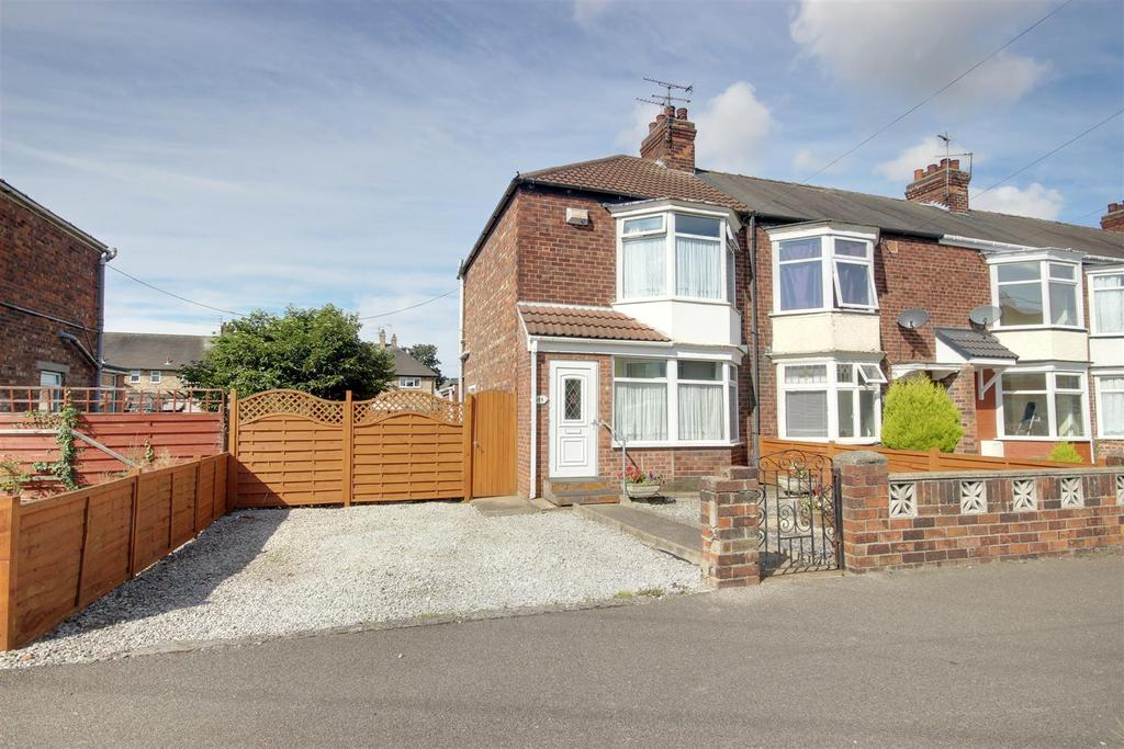 2 Bedrooms End Of Terrace House for sale in Lomond Road, Hull