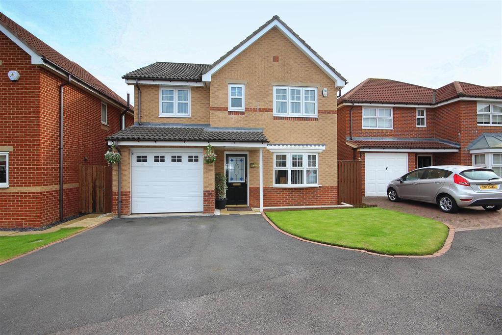 4 Bedrooms Detached House for sale in Barley Close, Eden Park, Hartlepool