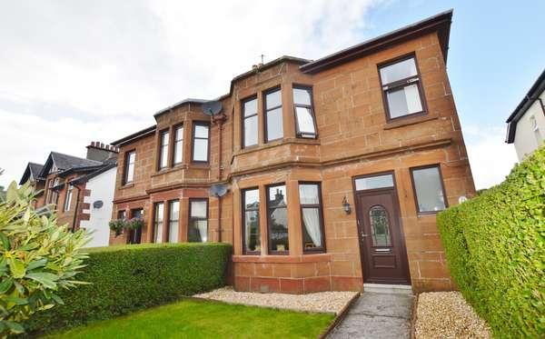 3 Bedrooms Semi-detached Villa House for sale in 49 Brisbane Street, Largs, KA30 8QP