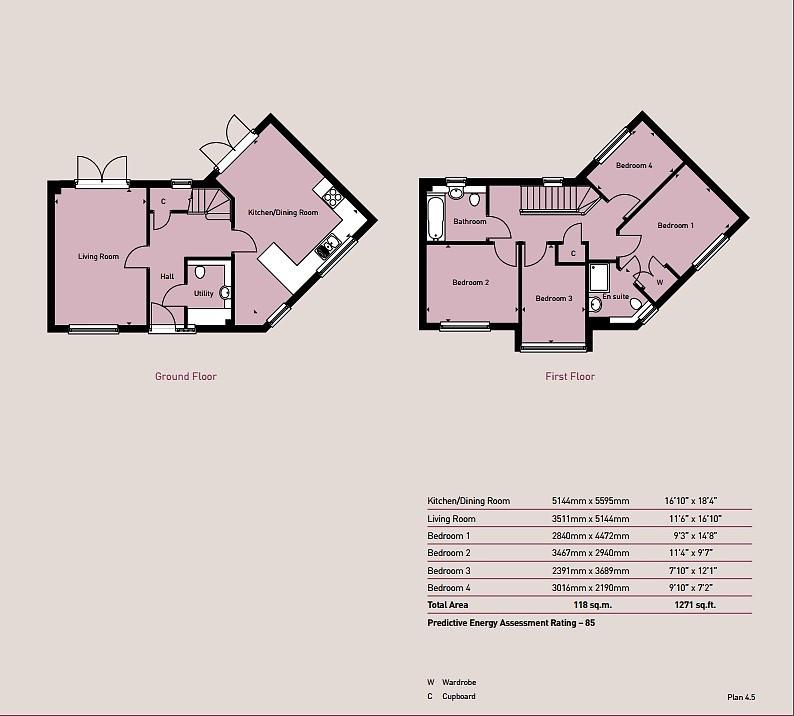 4 Bedrooms Detached House for sale in Rosewood Development, Colchester, Essex, CO4 5ZP