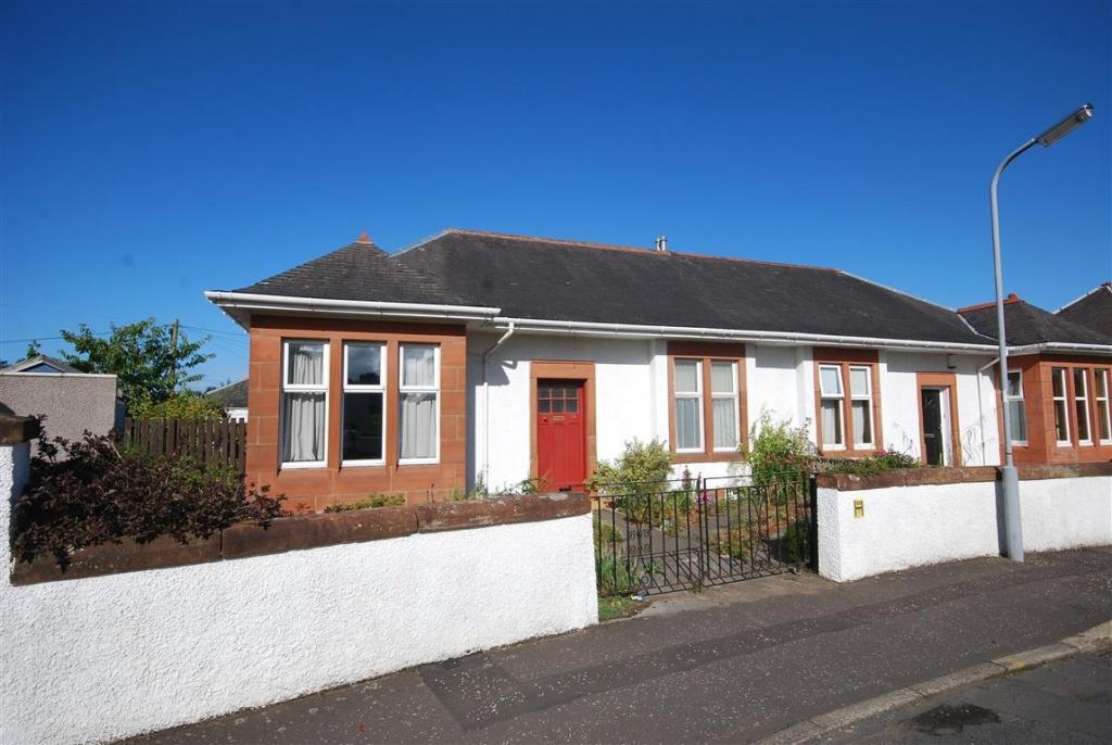 2 Bedrooms Semi Detached Bungalow for sale in 24 Inverkar Road, Ayr, KA7 2JT