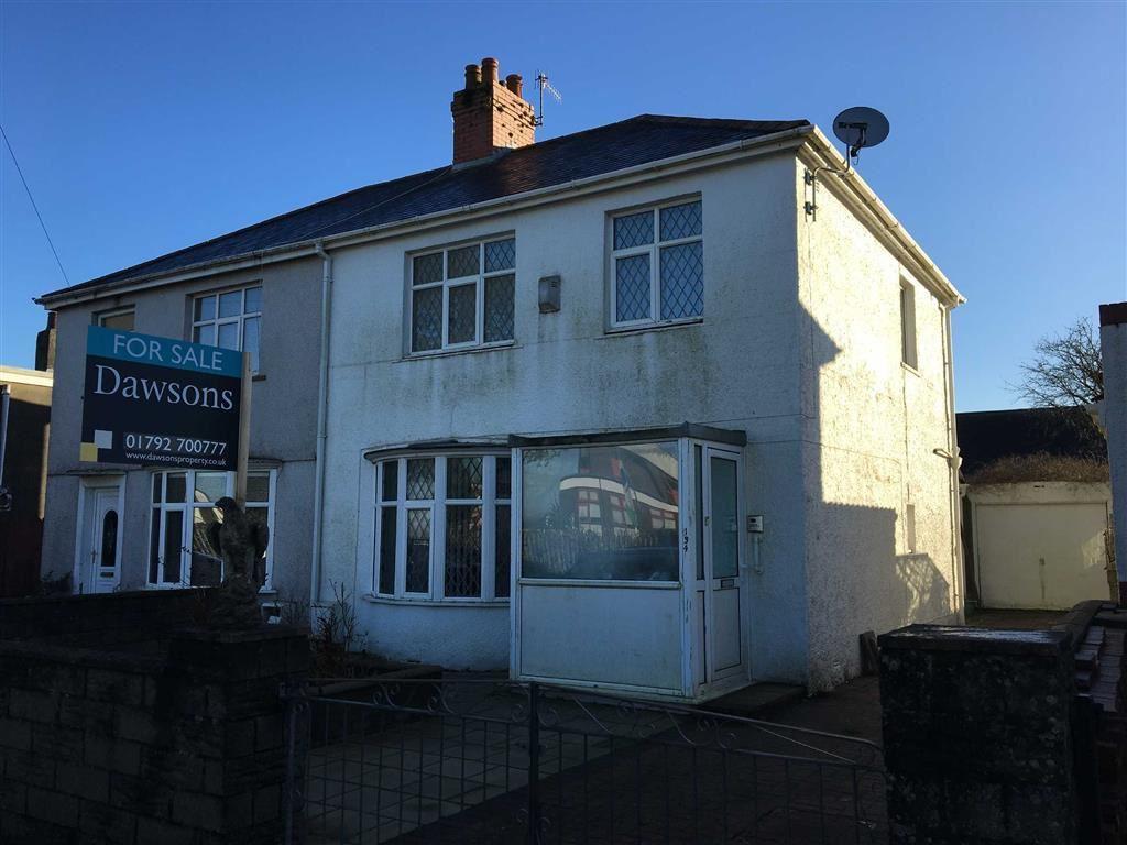 Mynydd Garnllwyd Road, Morriston, Swansea 3 bed semi-detached house ...