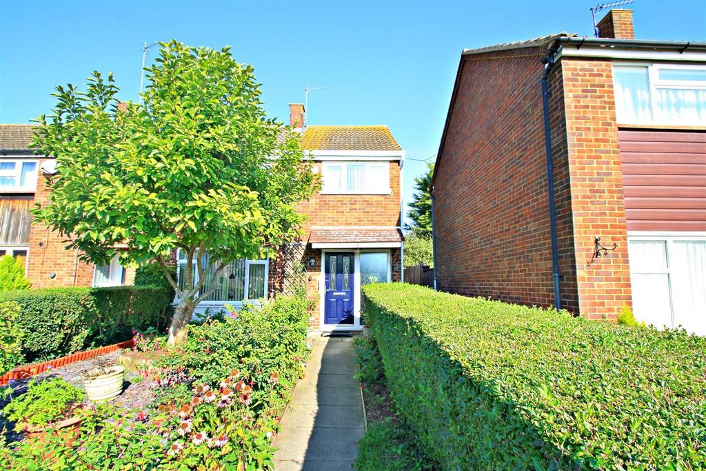 3 Bedrooms End Of Terrace House for sale in Somerset Close, Bletchley