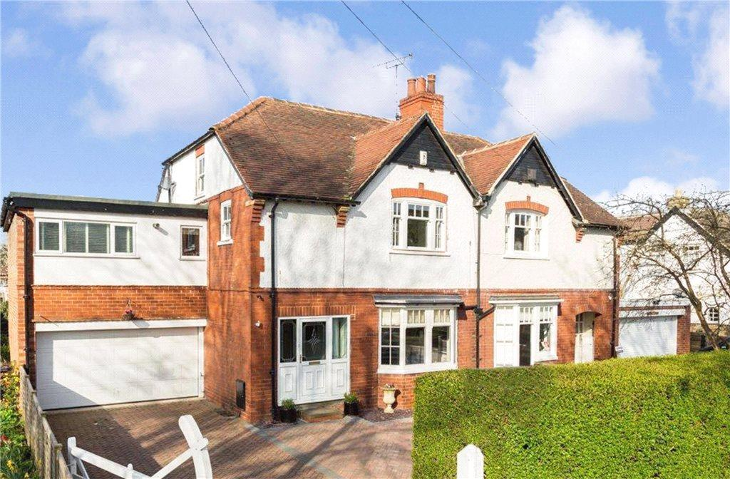 5 Bedrooms Semi Detached House for sale in The Avenue, Collingham, Wetherby, West Yorkshire