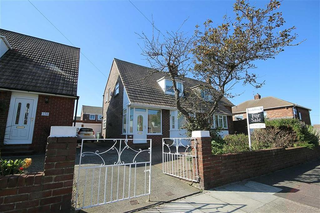 3 Bedrooms Semi Detached Bungalow for sale in Bamburgh Avenue, South Shields, Tyne Wear