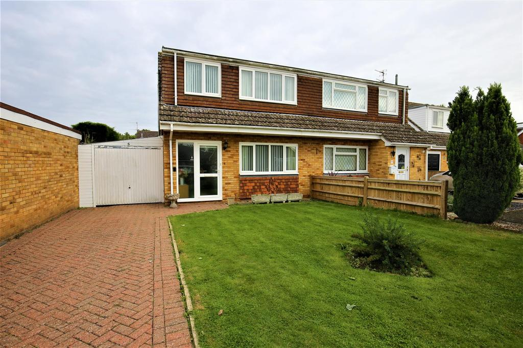 3 Bedrooms Semi Detached House for sale in Halstow Close, Maidstone