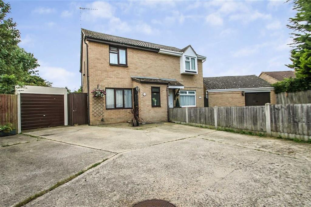 3 Bedrooms Semi Detached House for sale in Love Way, Clacton-on-Sea