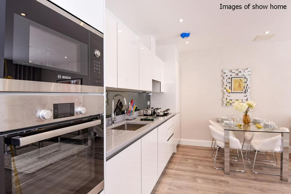 2 Bedrooms Flat for sale in Woodside Apartments, Canning Crescent, Wood Green