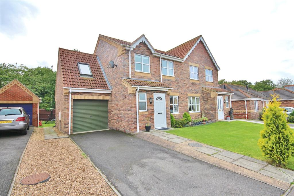 4 Bedrooms Semi Detached House for sale in Sawmill Lane, Wragby, LN8