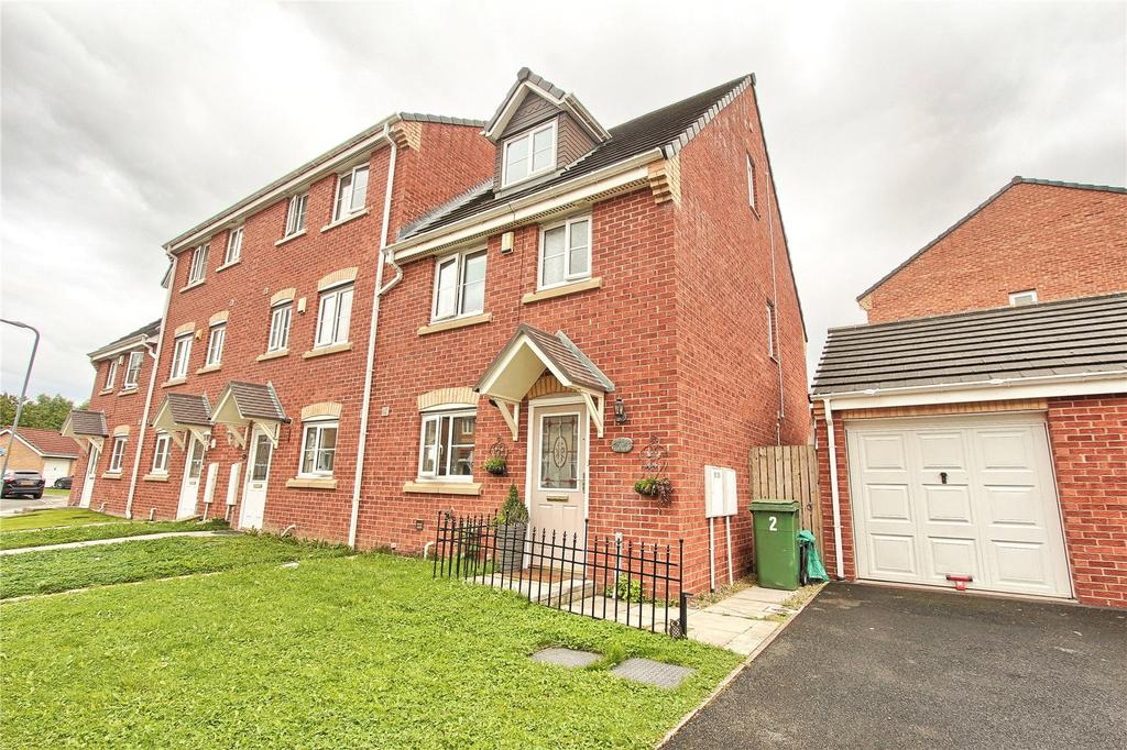 4 Bedrooms End Of Terrace House for sale in Bevan Close, Stockton On Tees