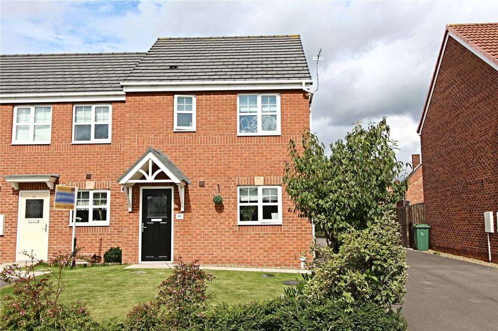 3 Bedrooms End Of Terrace House for sale in Edison Drive, Hardwick