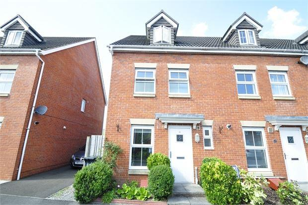 3 Bedrooms End Of Terrace House for sale in Brigantine Way , Coedkernew, Newport, Gwent . NP10 8EW