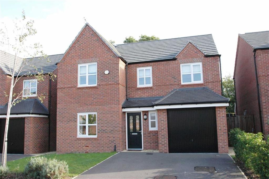 4 Bedrooms Detached House for sale in Willow Hey, Saughall