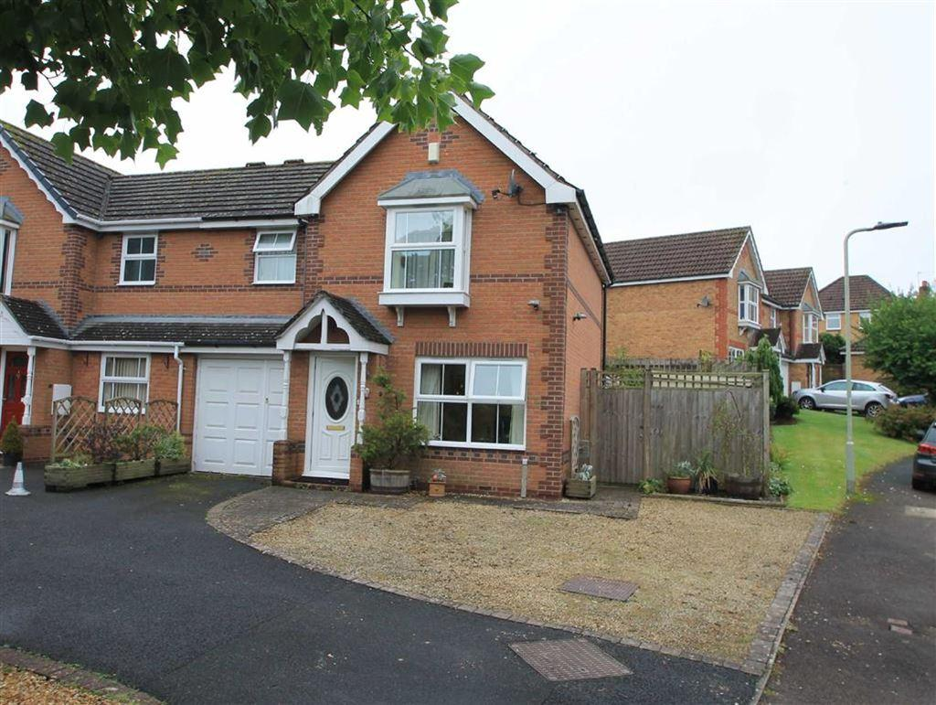 3 Bedrooms Semi Detached House for sale in James Close, Ludlow