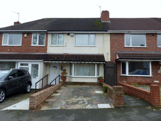 3 Bedrooms Terraced House for sale in Sterndale Road,Great Barr,Birmingham