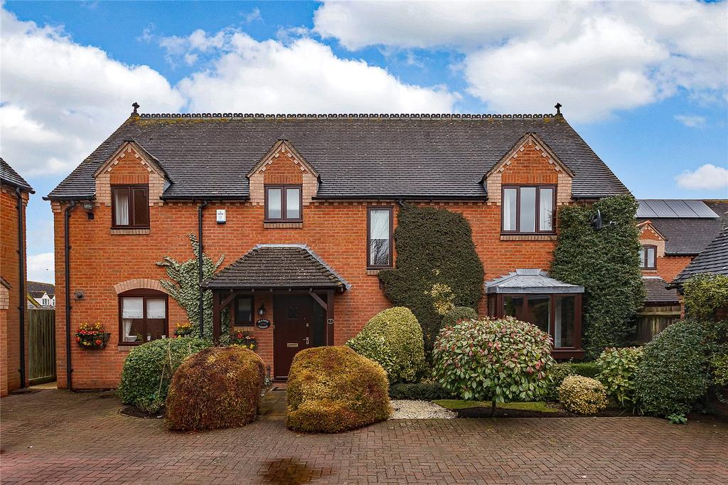 5 Bedrooms Detached House for sale in Penelope Gardens, Wickhamford, Evesham, Worcestershire