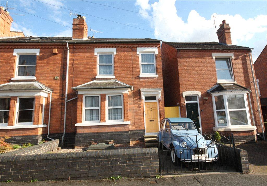 3 Bedrooms End Of Terrace House for sale in Somers Road, Worcester, Worcestershire, WR1