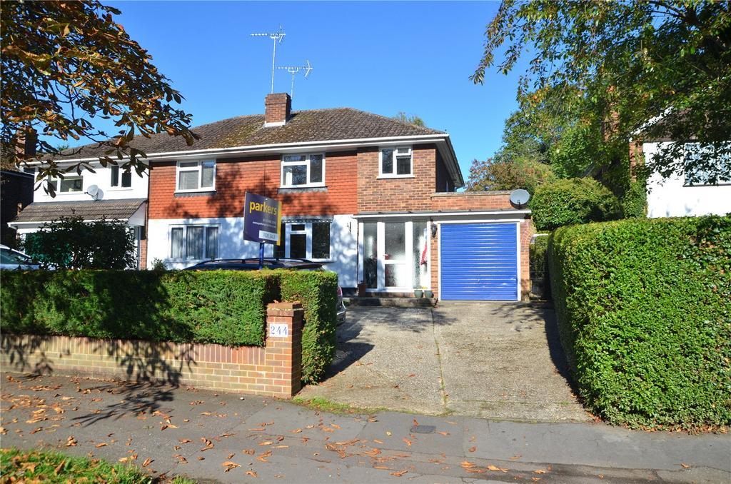 3 Bedrooms Semi Detached House for sale in Overdown Road, Tilehurst, Reading, Berkshire, RG31