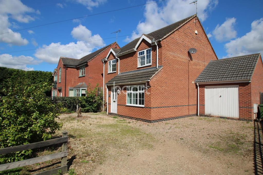 4 Bedrooms Detached House for sale in Leicester